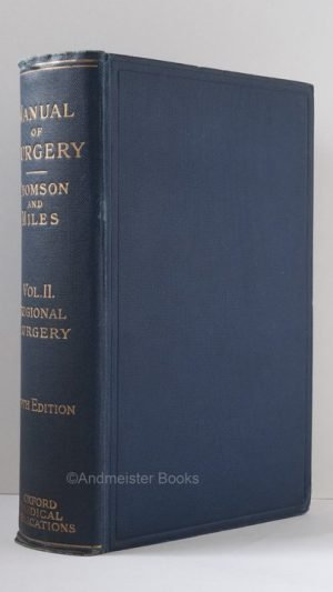 Manual of Surgery: Volume Second Regional Surgery