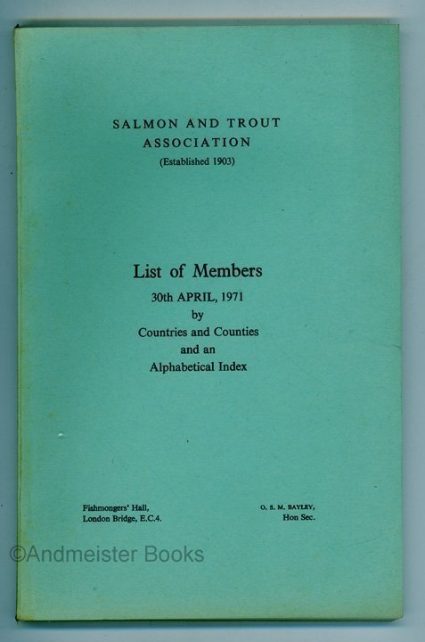 Salmon and Trout Association List