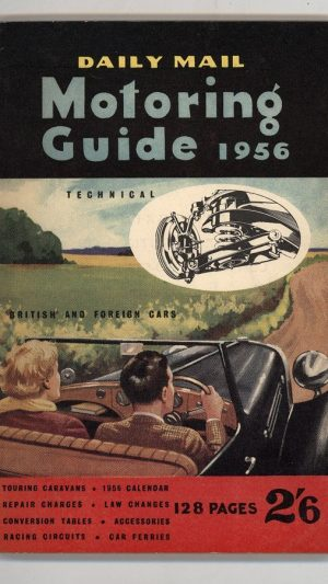 Daily Mail Motoring Guide 1956