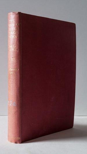The Complete Works of Walter Savage Landor Volume XII