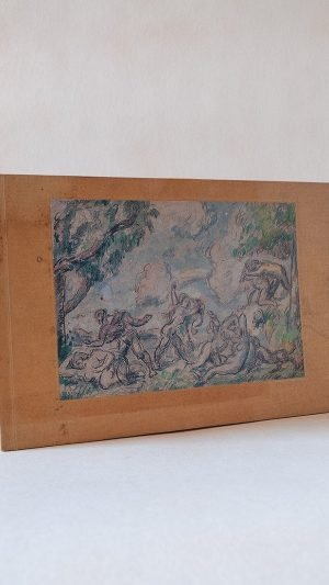 Watercolour and Pencil Drawings by Cezanne