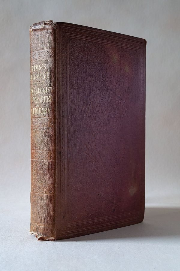 A Manual for the Genealogist