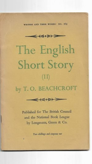 The English Short Story (II)