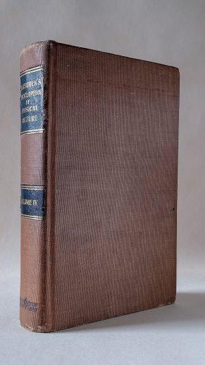 MacFadden's Encyclopedia of Physical Culture Volume IV