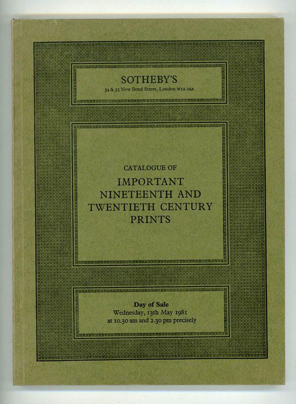 Sotheby's Catalogue