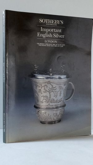 Important English Silver – 1985 Auction Catalogue.
