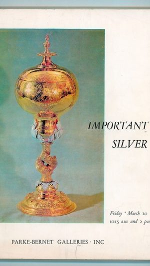 Important Silver Sale Number 3009