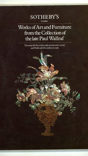Works of Art from the Collection of the Late Paul Wallraf