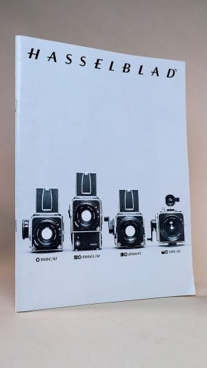 Hasselblad 500C/M, SWC/M, 500EL/M and 2000FC Camera & Lenses Brochure 1979