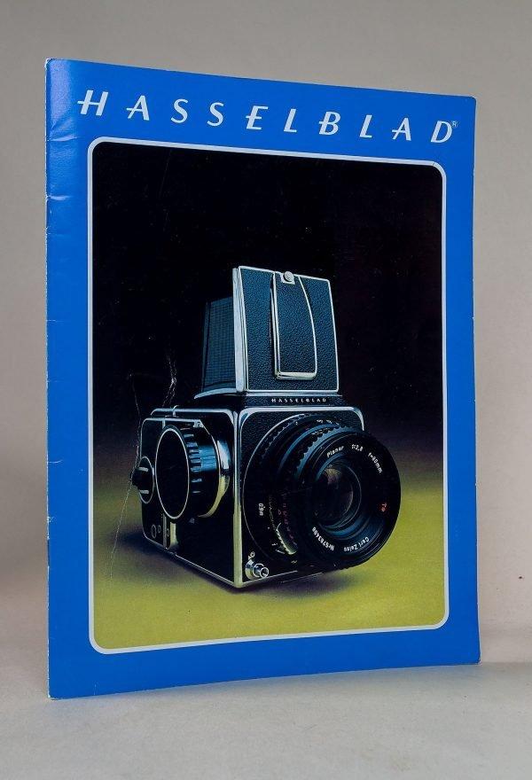 Hasselblad 500C/M, SWC, 500EL/M and 2000FC Camera & Lenses Brochure 1977