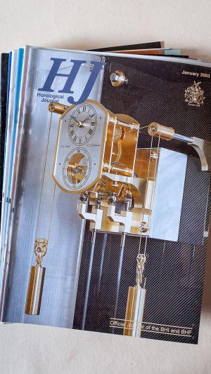 Horological Journal January-December 2003