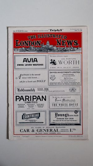 The Illustrated London News No 6364 Volume 239 July 22 1961