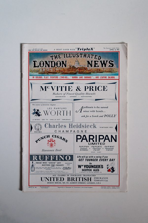 The Illustrated London News No. 6349 Volume 238 April 8 1961