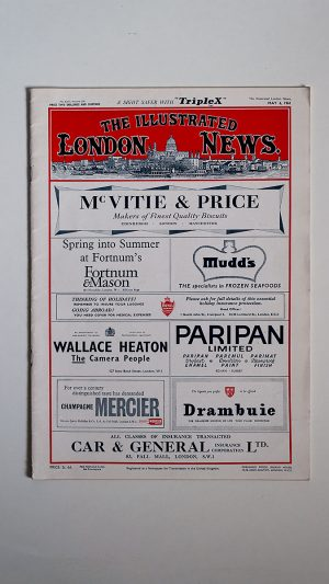 The Illustrated London News No. 6353 Volume 238 May 6 1961